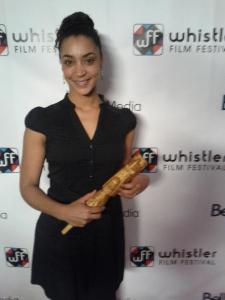 Marie-Evelyne Lessard au Whistler Film Festival