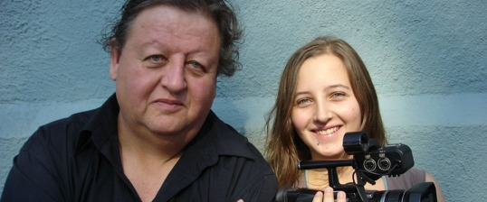 Co-directors Peter Wintonick and Mira Burt-Wintonick