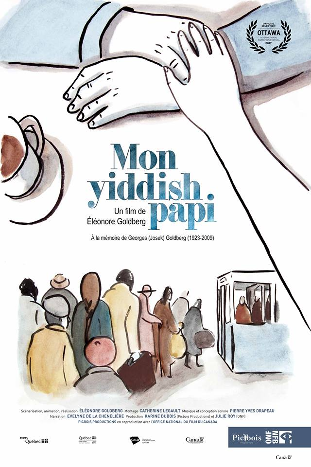 Mon yiddish papi Poster